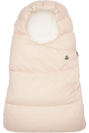 Moncler Nylon Quilted Down Baby Sleeping Bag