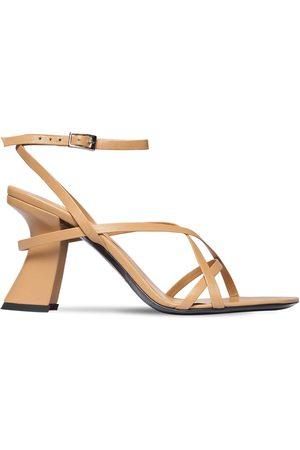By Far 95mm Kersti Leather Sandals