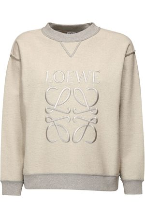 Loewe Embroidered Cotton Jersey Sweatshirt