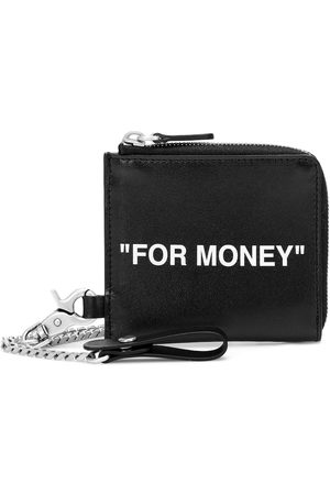 OFF-WHITE Leather coin pouch