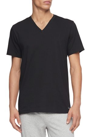Calvin Klein Men's 3-Pack Cotton V-Neck T-Shirt