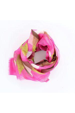 BARBA Scarves Women Fuchsia fantasy Cotton / Linen