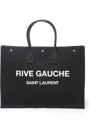 Saint Laurent Men Laptop Bags - Rive Gauche Canvas Tote