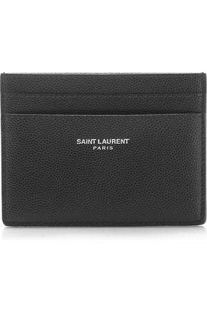 Saint Laurent Men Wallets - Grain de Poudre Card Case
