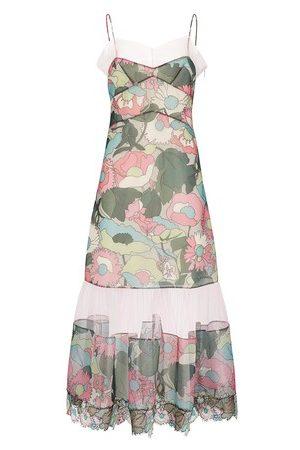 Fendi Women Party Dresses - Windflowers midi dress