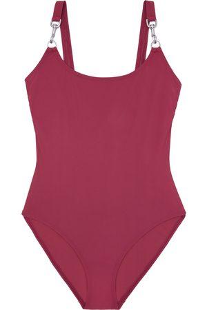 Tory Burch Women's Clip Tank One-Piece Swimsuit