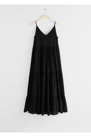 & OTHER STORIES Women Maxi Dresses - Sleeveless Relaxed Maxi Dress