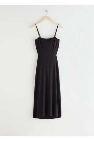 & OTHER STORIES Open Back Midi Dress