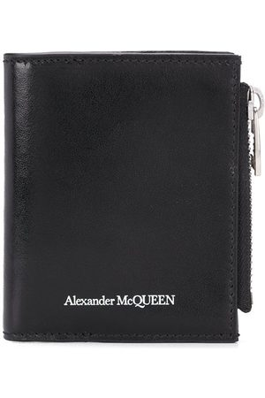 Alexander McQueen Men Wallets - Logo-print wallet