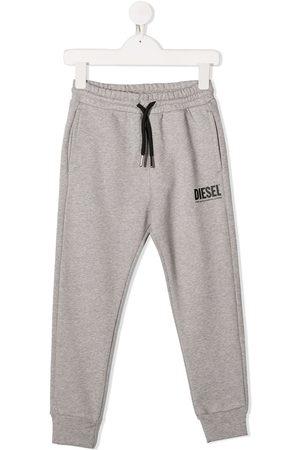 Diesel Logo print track pants - Grey