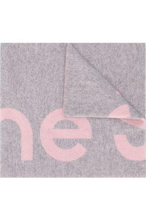 Acne Studios Scarves - Oversized logo intarsia scarf