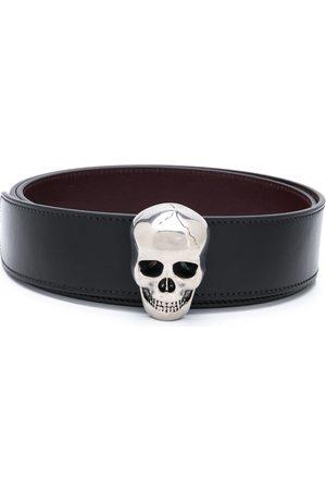 Alexander McQueen Men Belts - Skull buckle belt