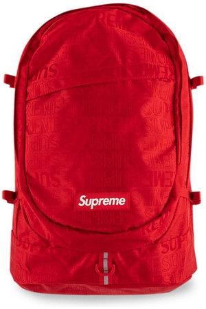 Supreme Rucksacks - SS19 logo backpack