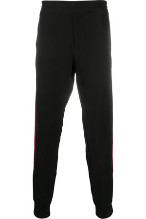 Alexander McQueen Men Sweatpants - Side stripe track pants