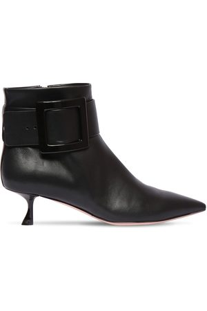 Roger Vivier Women Ankle Boots - 45mm Leather Ankle Boots