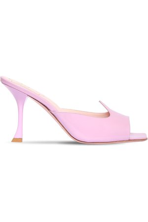 Roger Vivier 10mm I Love Vivier Patent Leather Mules