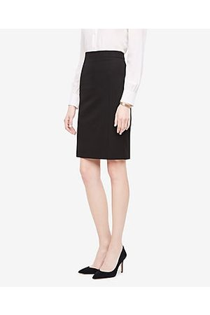 ANN TAYLOR Tall Seasonless Stretch Seamed Pencil Skirt Size 0 Women's