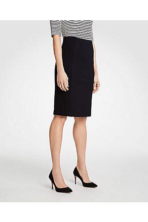 ANN TAYLOR Petite Ponte Pencil Skirt Size 00 Women's