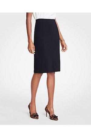 ANN TAYLOR Ponte Pencil Skirt Size 0 Women's