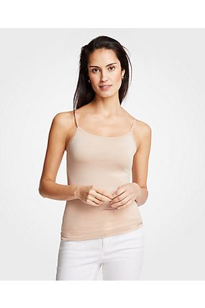 ANN TAYLOR Stretch Cami Top Size 2XS Faint Maple Women's