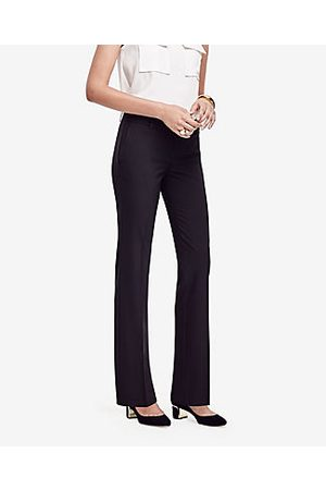 ANN TAYLOR The Petite Straight Pant In Seasonless Stretch - Curvy Fit Size 00 Women's