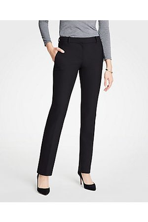 ANN TAYLOR The Petite Straight Leg Pant - Curvy Fit Size 00 Women's