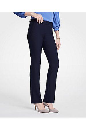 ANN TAYLOR The Straight Pant Size 0 Atlantic Navy Women's