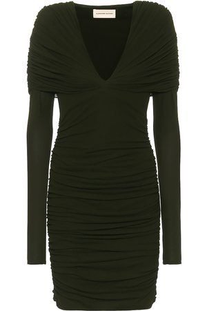 ALEXANDRE VAUTHIER Ruched jersey minidress