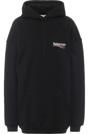 Balenciaga Oversized cotton hoodie