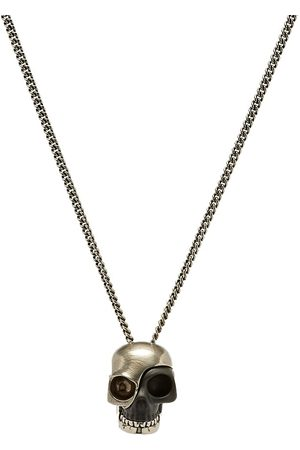 Alexander McQueen Stacked Fragment Skull Necklace