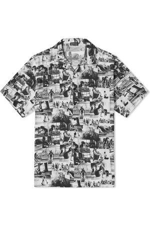 Balenciaga Yoga Print Vacation Shirt