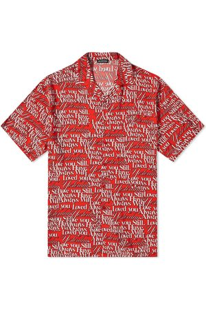 Balenciaga Love Poem All Over Print Vacation Shirt