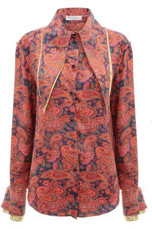 J.W.Anderson Women Blouses - Paisley-print blouse - /NAVY