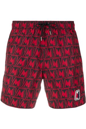 Moncler Logo-print swim shorts