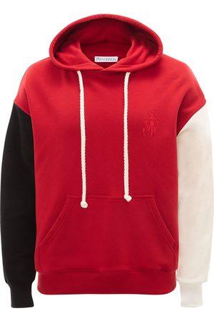 J.W.Anderson Men Hoodies - Inside-out sleeve hoodie