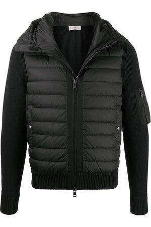 Moncler Men Puffer Jackets - Padded-front hooded jacket
