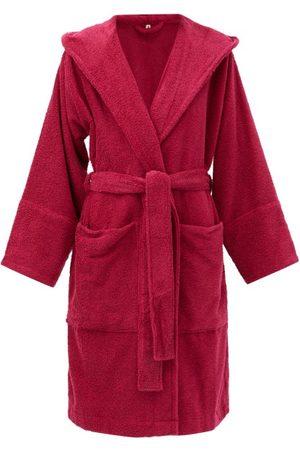 Tekla Hooded Cotton-terry Bathrobe - Womens