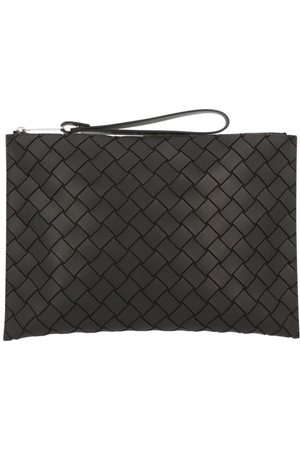 Bottega Veneta Men Laptop Bags - Rubber Intrecciato document holder with handle