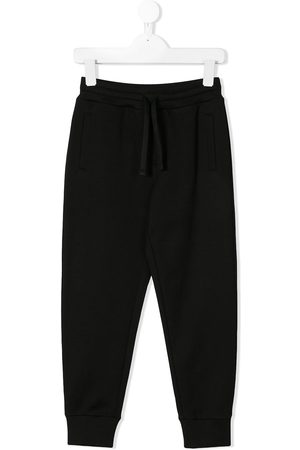 Dolce & Gabbana Boys Sweatpants - Rear logo plaque track pants