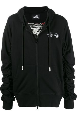 HACULLA Embroidered detail hoodie