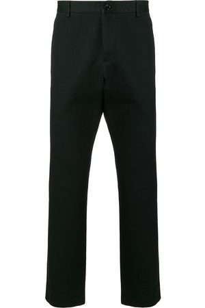 Gucci Men Formal Pants - Logo stitched tailored trousers