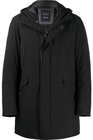 HERNO Men Coats - Hooded coat