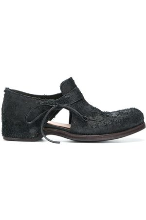 INDIVIDUAL SENTIMENTS Textured cut-out loafers