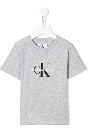Calvin Klein Printed logo T-shirt - Grey