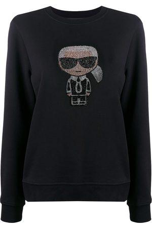 Karl Lagerfeld Ikonik rhinestone Karl sweatshirt