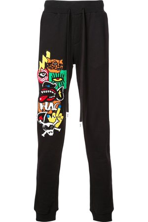 HACULLA Men Sweatpants - Encrypted patched track trousers
