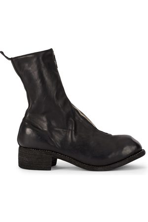 GUIDI Women Ankle Boots - Front zip ankle boots