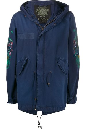 Mr & Mrs Italy Men Trench Coats - Printed raincoat