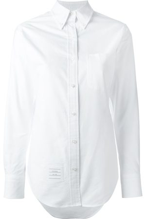 Thom Browne Women Long sleeves - Classic Long Sleeve Button Down Point Collar Shirt In Oxford