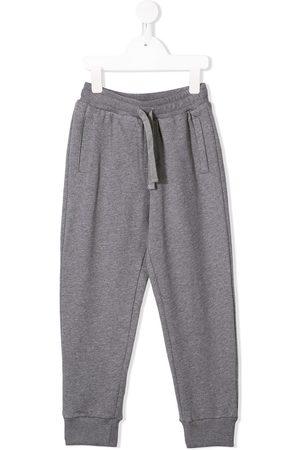 Dolce & Gabbana Boys Sweatpants - Logo track pants - Grey